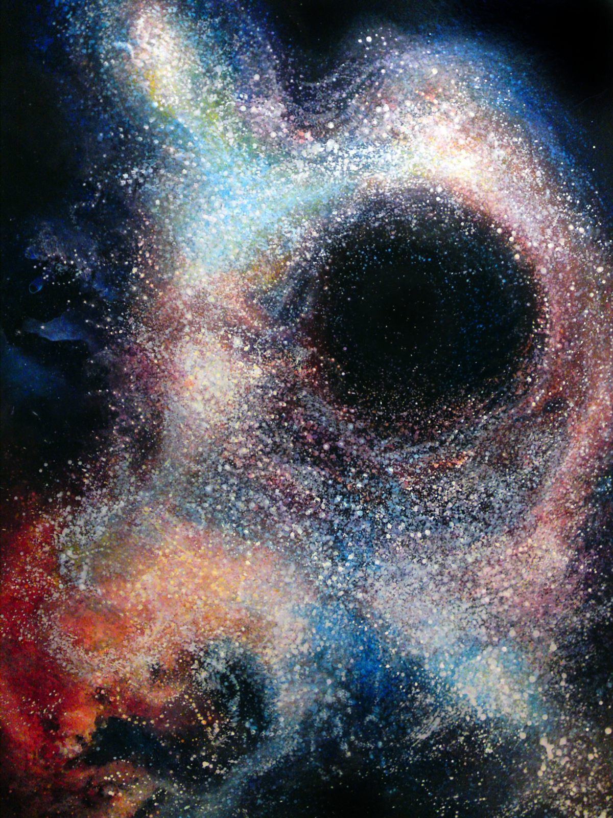 Black Hole Painting - Pics about space